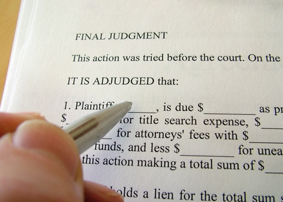 final judgment construction attorney